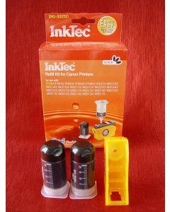 Zestaw InkTec BKI-5025D, do napełniania kartridży - black 2 x 20ml + akcesoria