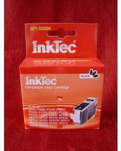 Kartridż InkTec BPI-505BK , z chipem - zamiennik dla PGI-5BK