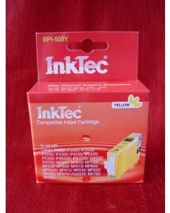 Kartridż InkTec BPI-508Y, z chipem - zamiennik dla CLI-8Y