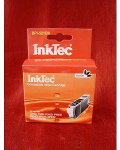 Kartridż InkTecBPI-521Bk, z chipem - zamiennik dla CLI-521Bk