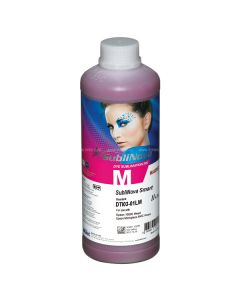 1 litr  Atrament  InkTec -magenta Sublimacyjny, DTI03-01LM, SubliNova Smart  Dye