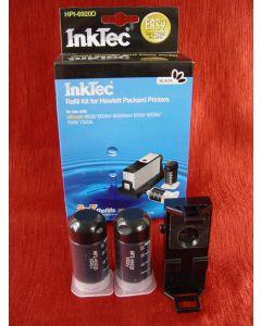 Zestaw InkTec HPI-6920D, do napełniania kartridży - black 2 x 20ml + akcesoria